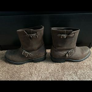 Brown Frye boots!!!
